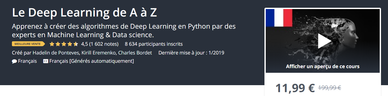 formation deep learning